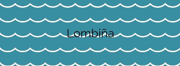 Información de la Playa Lombiña en A Pobra do Caramiñal