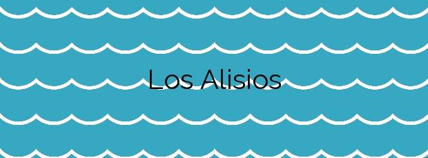 Información de la Playa Los Alisios en San Javier
