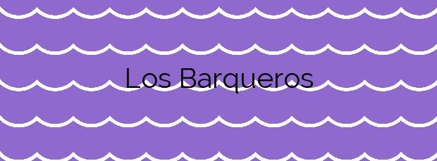 Información de la Playa Los Barqueros en Buenavista del Norte