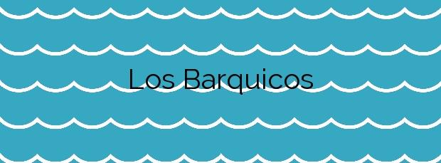 Información de la Playa Los Barquicos en Carboneras