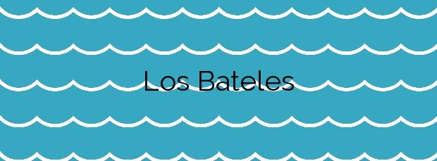 Información de la Playa Los Bateles en Conil de la Frontera