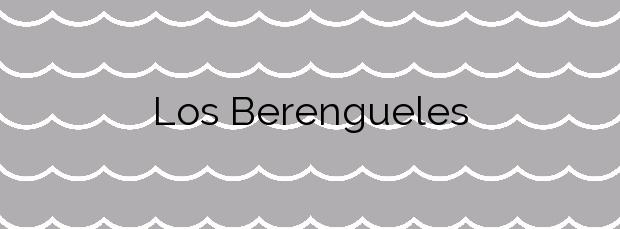 Información de la Playa Los Berengueles en Almuñécar