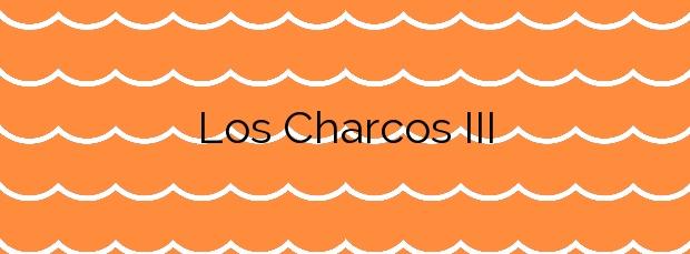 Información de la Playa Los Charcos III en La Oliva