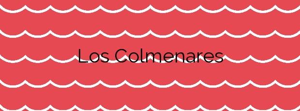 Información de la Playa Los Colmenares en San Miguel de Abona