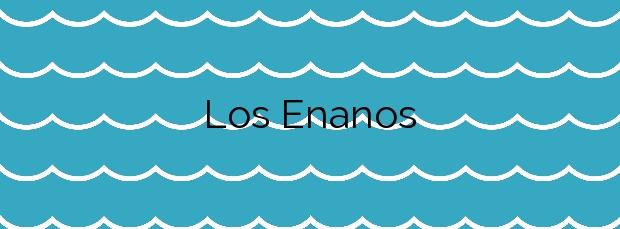 Información de la Playa Los Enanos en Arucas