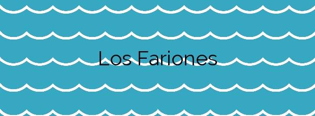 Información de la Playa Los Fariones en Tías