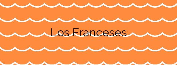 Información de la Playa Los Franceses en Arnuero
