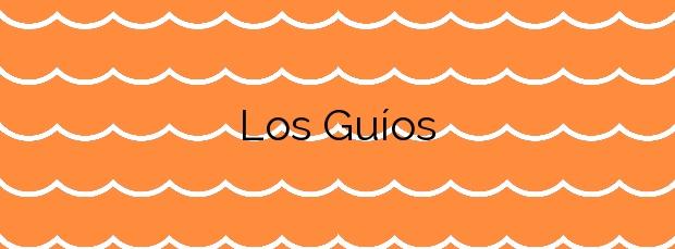 Información de la Playa Los Guíos en Santiago del Teide