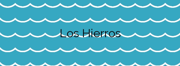 Información de la Playa Los Hierros en Lorca