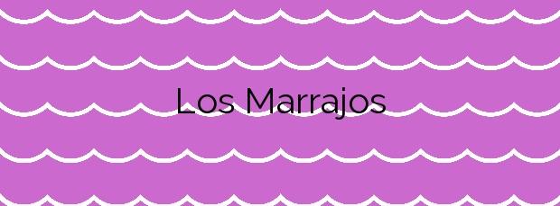 Información de la Playa Los Marrajos en Arucas