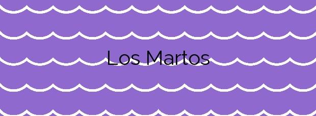 Información de la Playa Los Martos en La Oliva