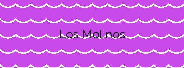 Información de la Playa Los Molinos en Valdés