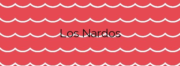 Información de la Playa Los Nardos en Pulpí