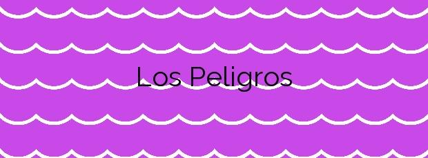 Información de la Playa Los Peligros en Santander