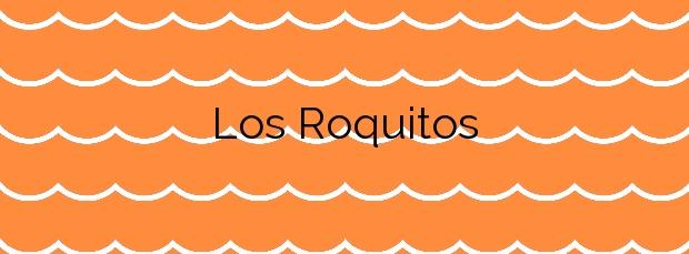 Información de la Playa Los Roquitos en Fuencaliente de la Palma