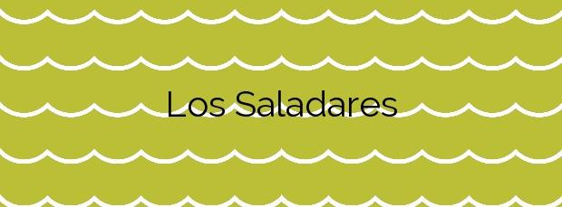 Información de la Playa Los Saladares en Alicante
