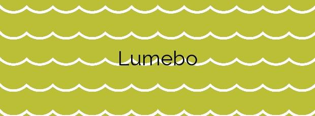 Información de la Playa Lumebo en Ferrol