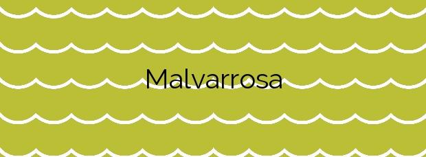 Información de la Playa Malvarrosa en Valencia