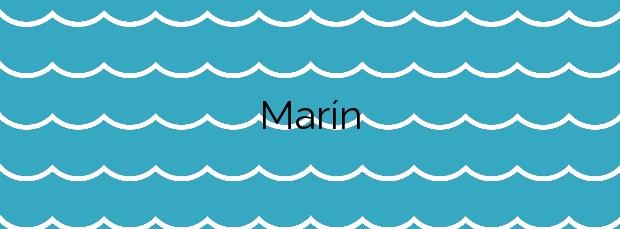 Información de la Playa Marín en Miño