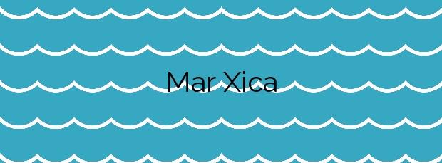Información de la Playa Mar Xica en Benicarló