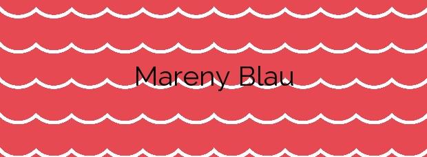 Información de la Playa Mareny Blau en Sueca