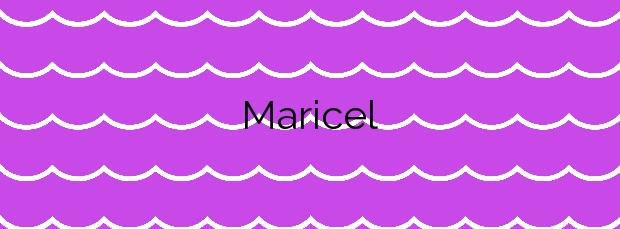 Información de la Playa Maricel en Alcanar