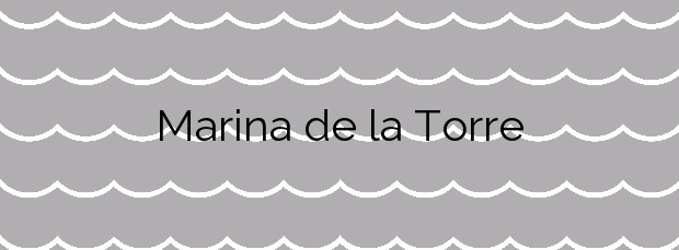 Información de la Playa Marina de la Torre en Mojácar