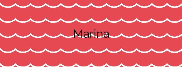 Información de la Playa Marina en Haría