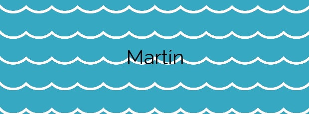 Información de la Playa Martín en Villa de Mazo