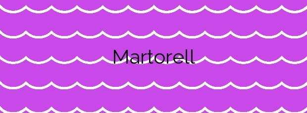 Información de la Playa Martorell en Gáldar