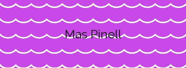 Información de la Playa Mas Pinell en Torroella de Montgrí