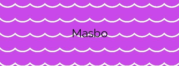 Información de la Playa Masbo en Moncofa