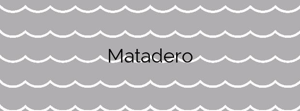Información de la Playa Matadero en A Coruña