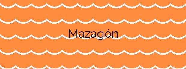 Información de la Playa Mazagón en Palos de la Frontera
