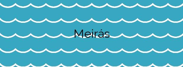 Información de la Playa Meirás en Valdoviño