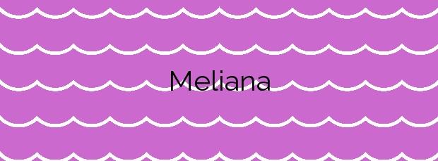 Información de la Playa Meliana en Meliana