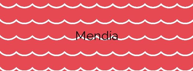 Información de la Playa Mendía en Ribadedeva