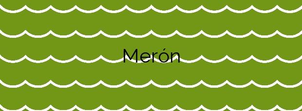 Información de la Playa Merón en San Vicente de la Barquera