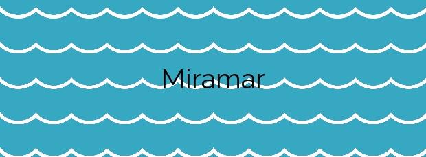 Información de la Playa Miramar en Ceuta