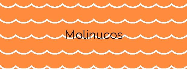 Información de la Playa Molinucos en Santander