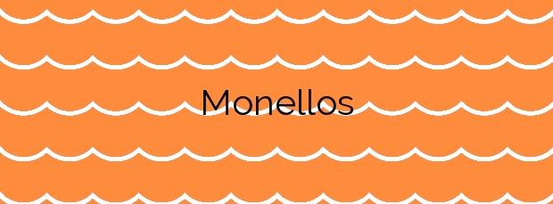 Información de la Playa Monellos en El Franco