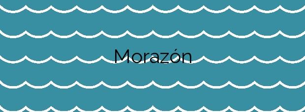 Información de la Playa Morazón en Sada