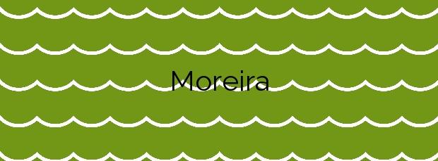 Información de la Playa Moreira en Muxía