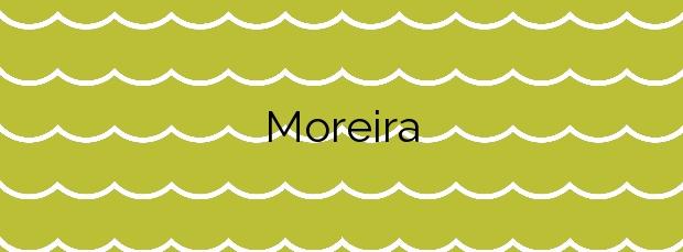 Información de la Playa Moreira en O Grove