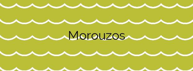 Información de la Playa Morouzos en Ortigueira