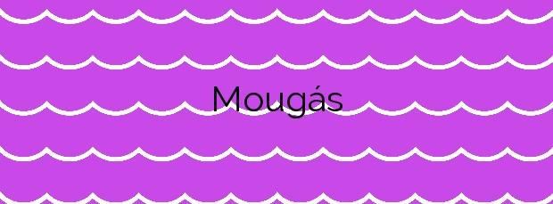 Información de la Playa Mougás en Oia
