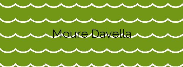 Información de la Playa Moure Davella en A Illa de Arousa