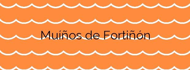 Información de la Playa Muíños de Fortiñón en Vigo