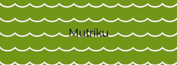Información de la Playa Mutriku en Mutriku