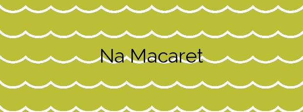 Información de la Playa Na Macaret en Es Mercadal
